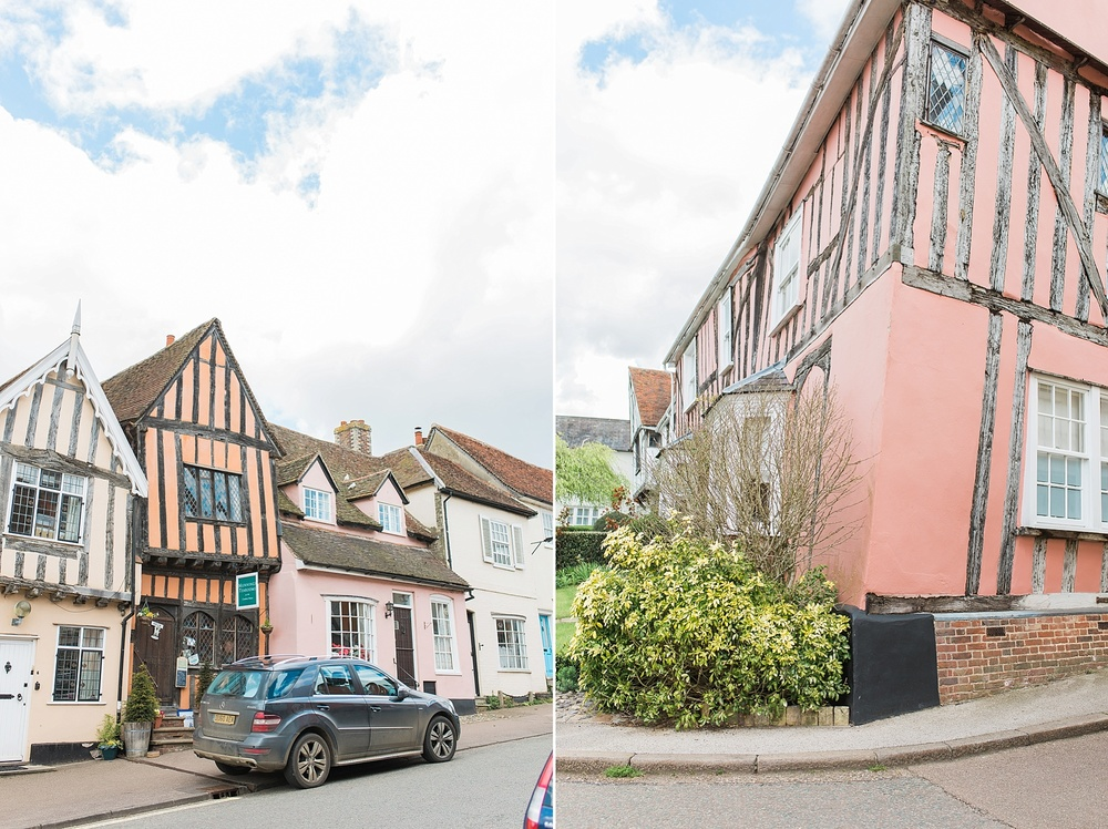 """We had tea in the tearoom in the picture on the left called """"The Crooked House."""" It was adorable! I had an amazing Rhubarb pie with clotted cream!"""