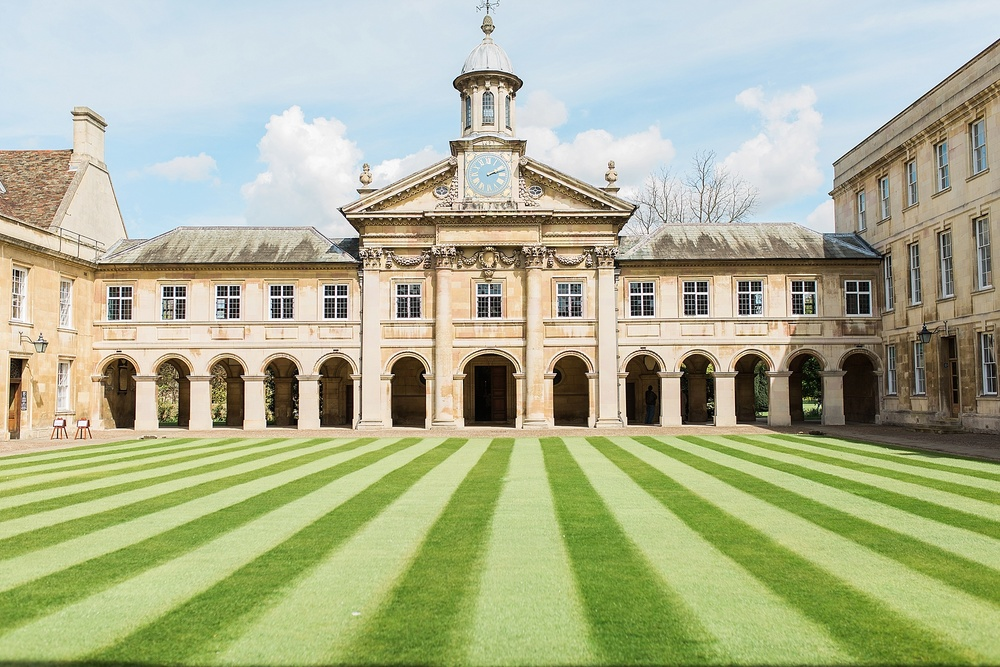 Emmanuel College, Cambridge. This was the center of Puritanism in the early 17th century. So many of the leading Puritans were educated and trained in this College.