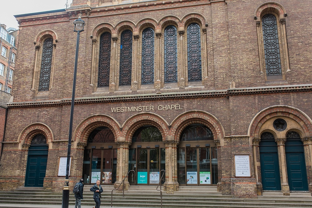 This isWestminster Chapel where Martin Lloyd-Jones preached. I had the privilege of attending this church when I studied abroad in London!