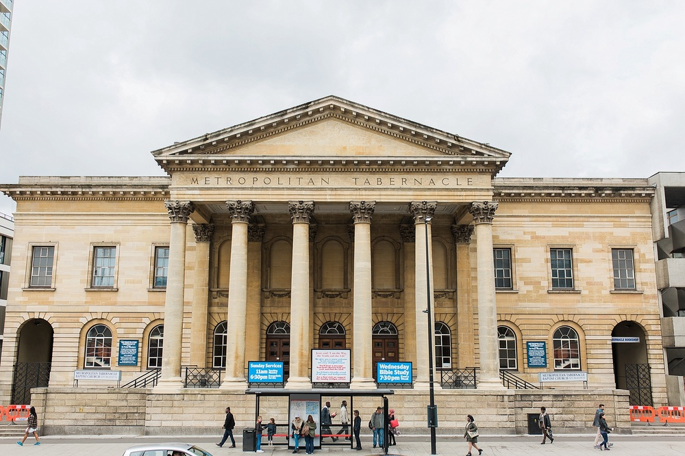 The Metropolitan Tabernacle where Spurgeon ministered for over 30 years. Alex's doctoral work is centered largely around Spurgeon, this building, and the ministry that was carried out from it. You can read more about Spurgeon in Part 2.