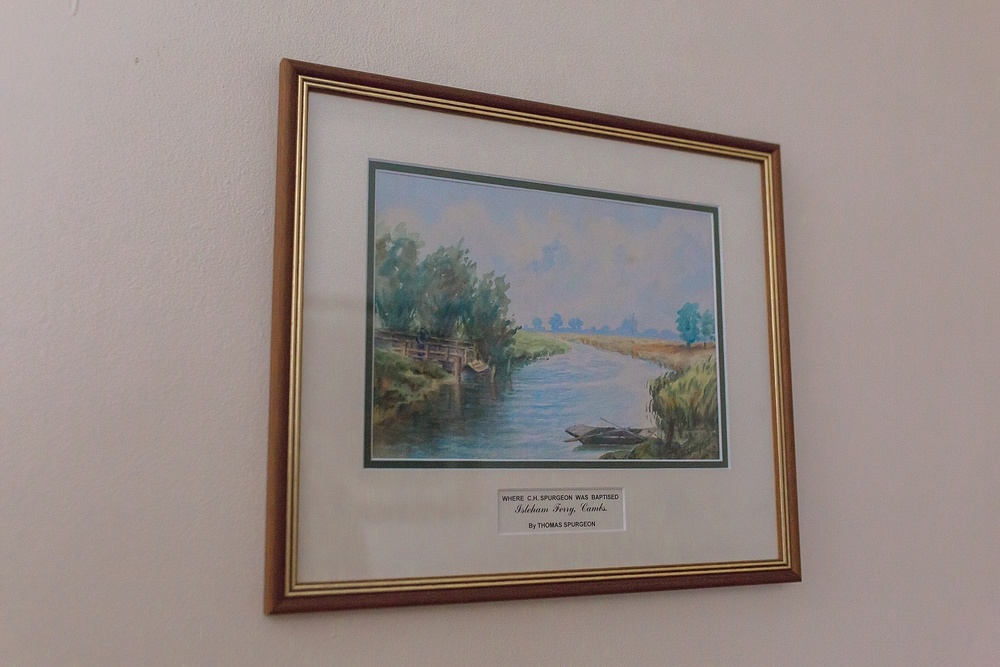 Do you recognize this? This is a picture of where Spurgeon was baptized. We got to visit that spot and I posted pictures in   Part 2   of this blog series.
