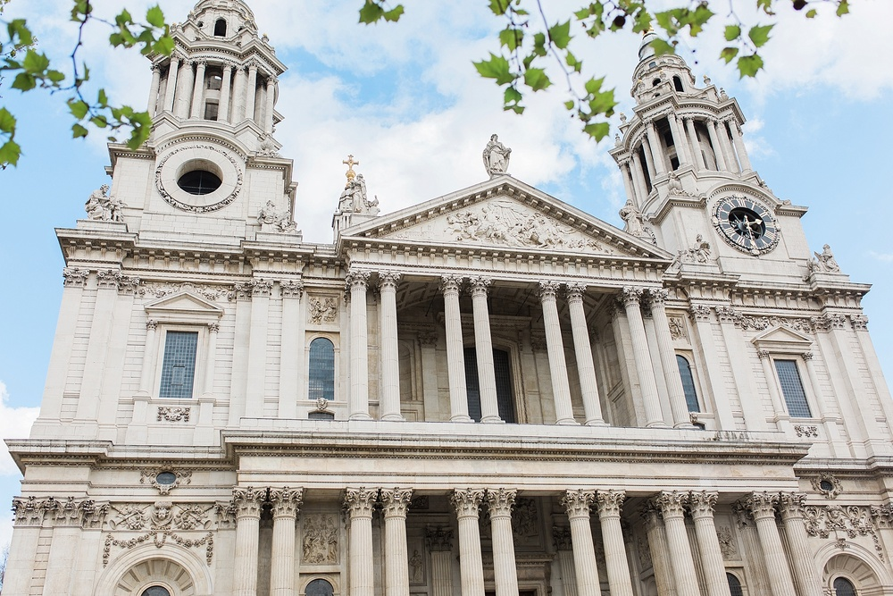 Outside St. Paul's Cathedral