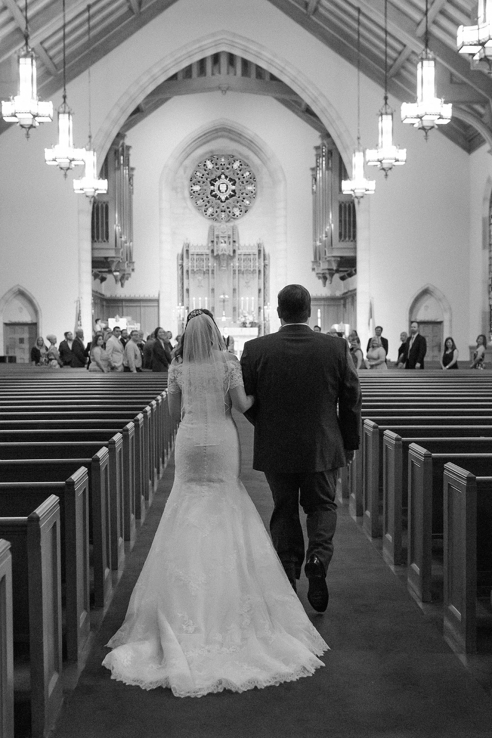 Edenton Street United Methodist Church Wedding