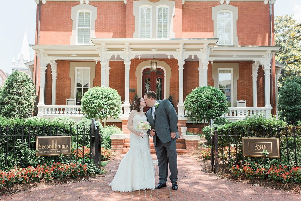 Second Empire Raleigh NC Wedding