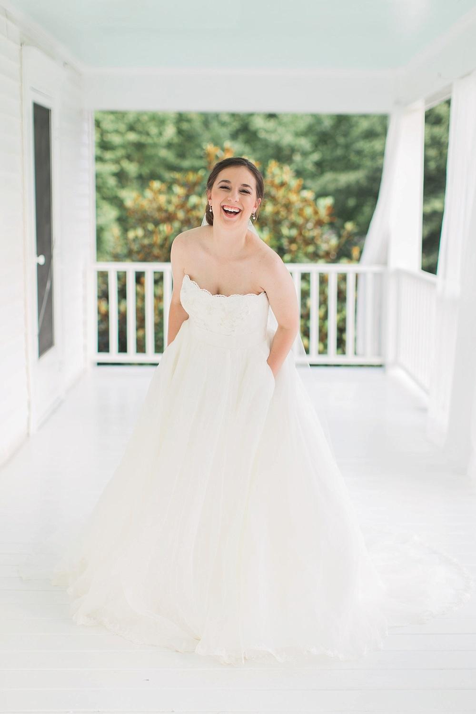 Mebane NC Bridal Portraits