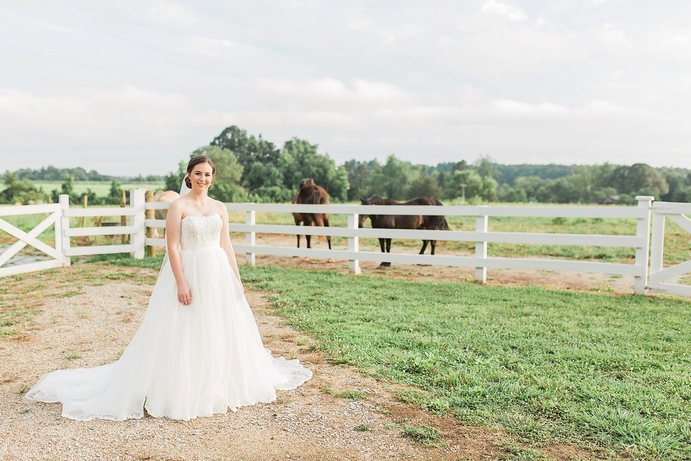 Bridal Portraits in Mebane NC
