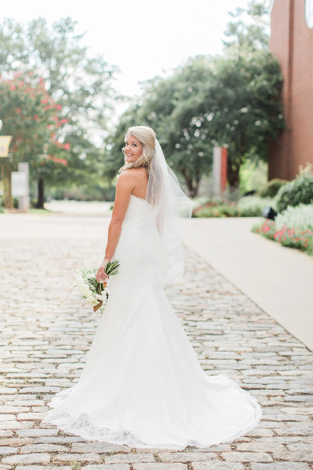 Bride in Greenville SC