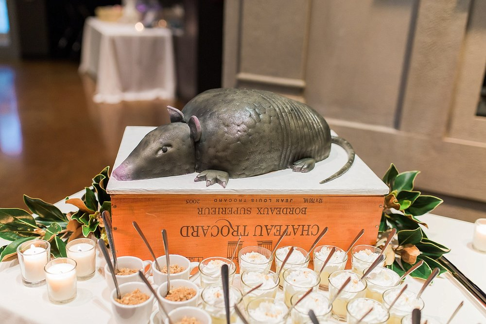 Armadillo Wedding Cake