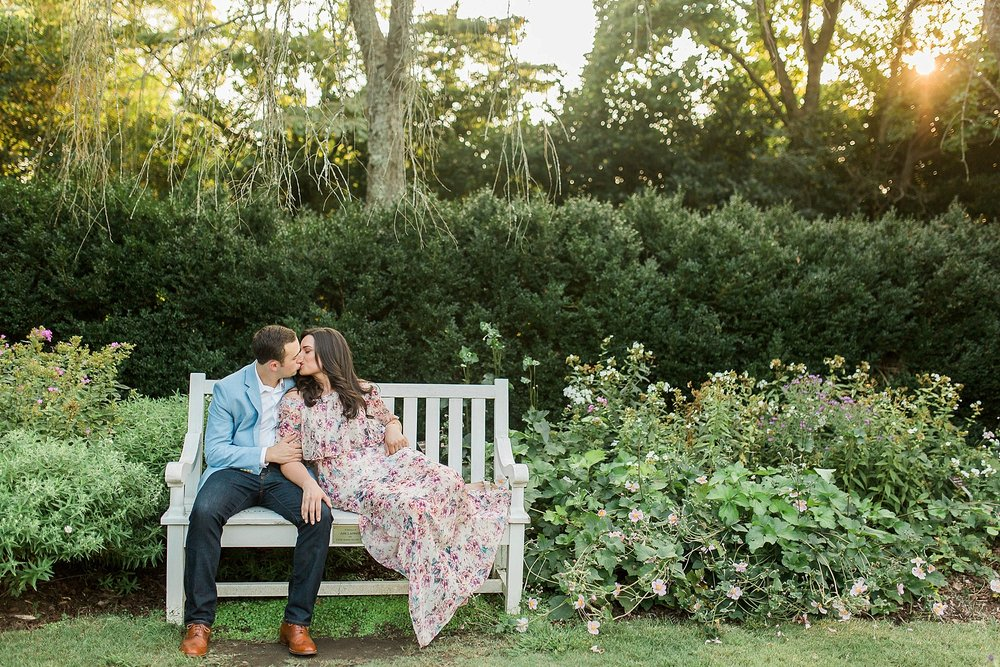 Engagement Pictures at Reynolda Gardens