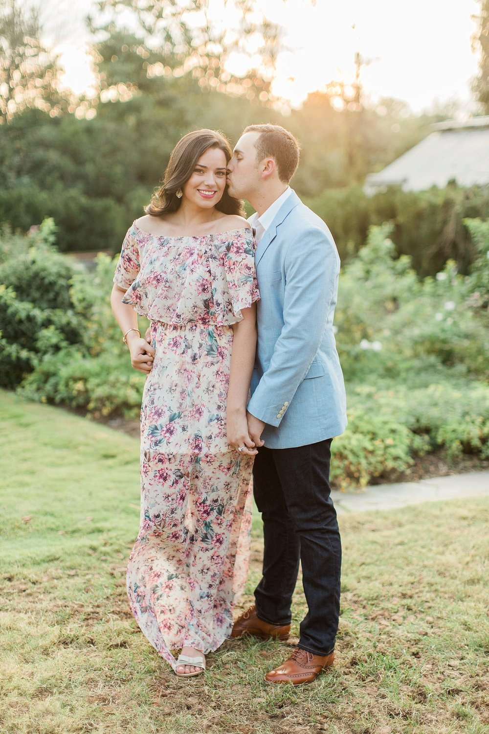 Reynolda Gardens Engagement Session