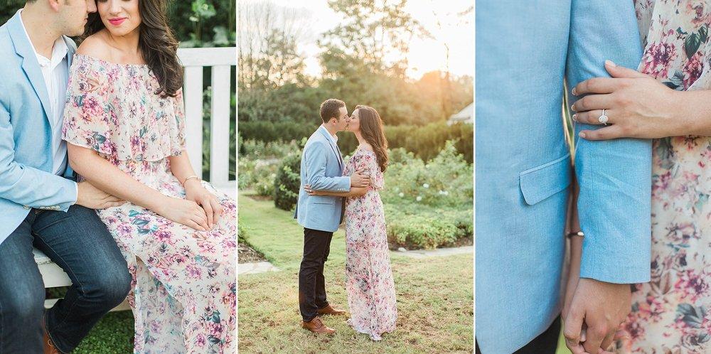 Reynolda Gardens Engagement Pictures