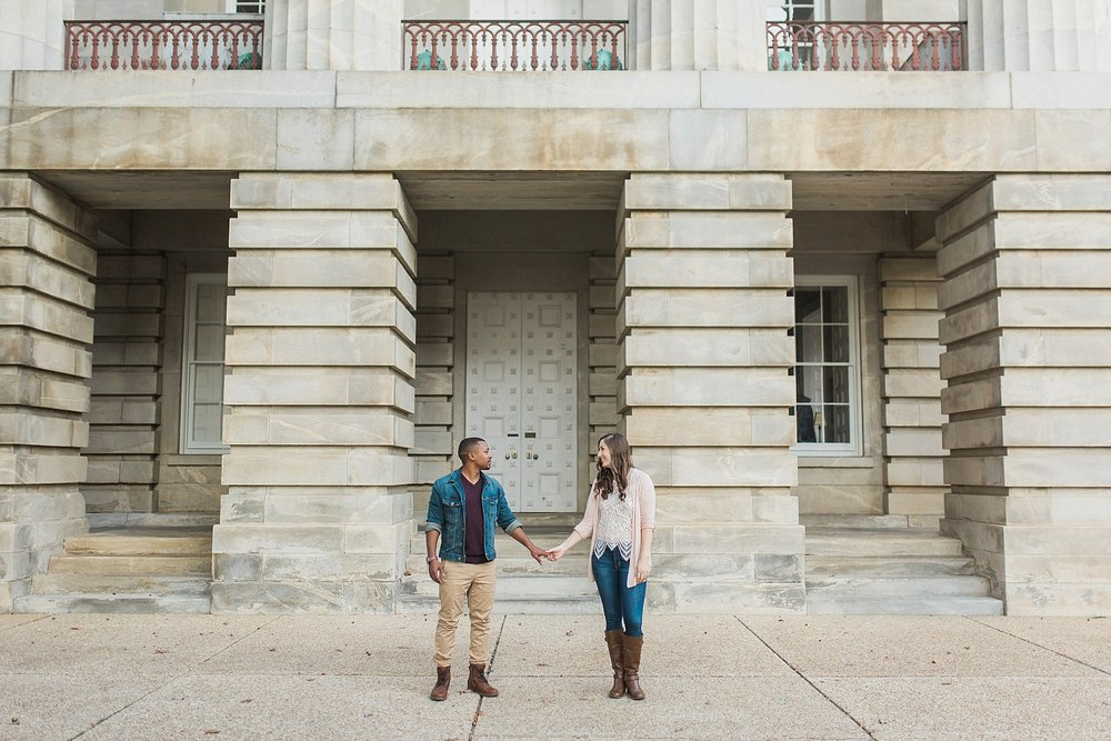 Raleigh engagement pictures