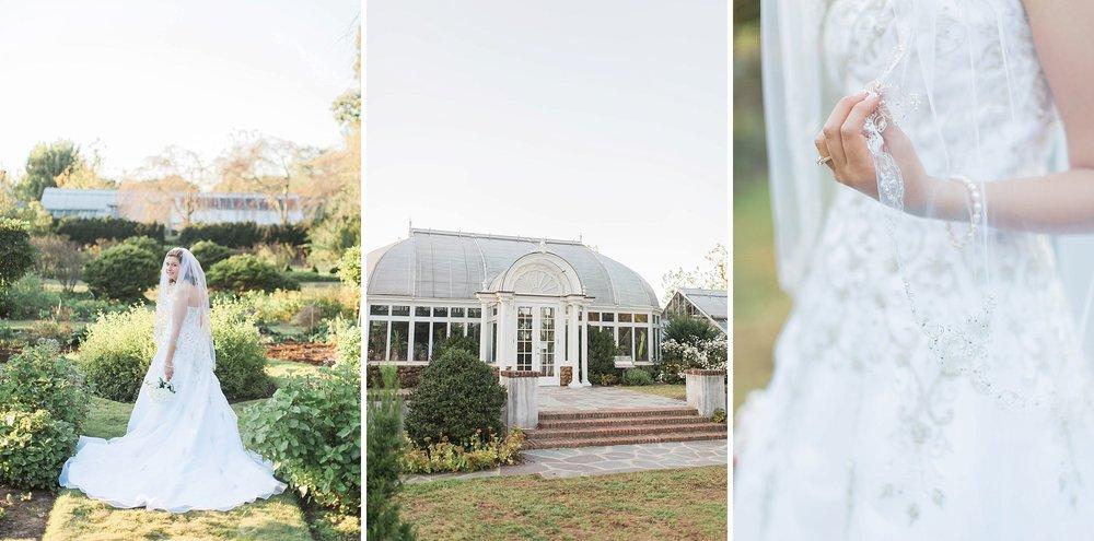 Reynolda Gardens Bridal Portraits