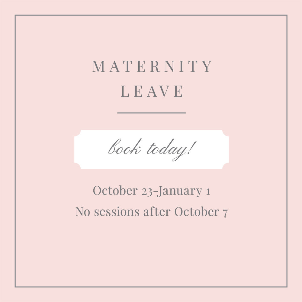 DiPrima Photography Maternity Leave