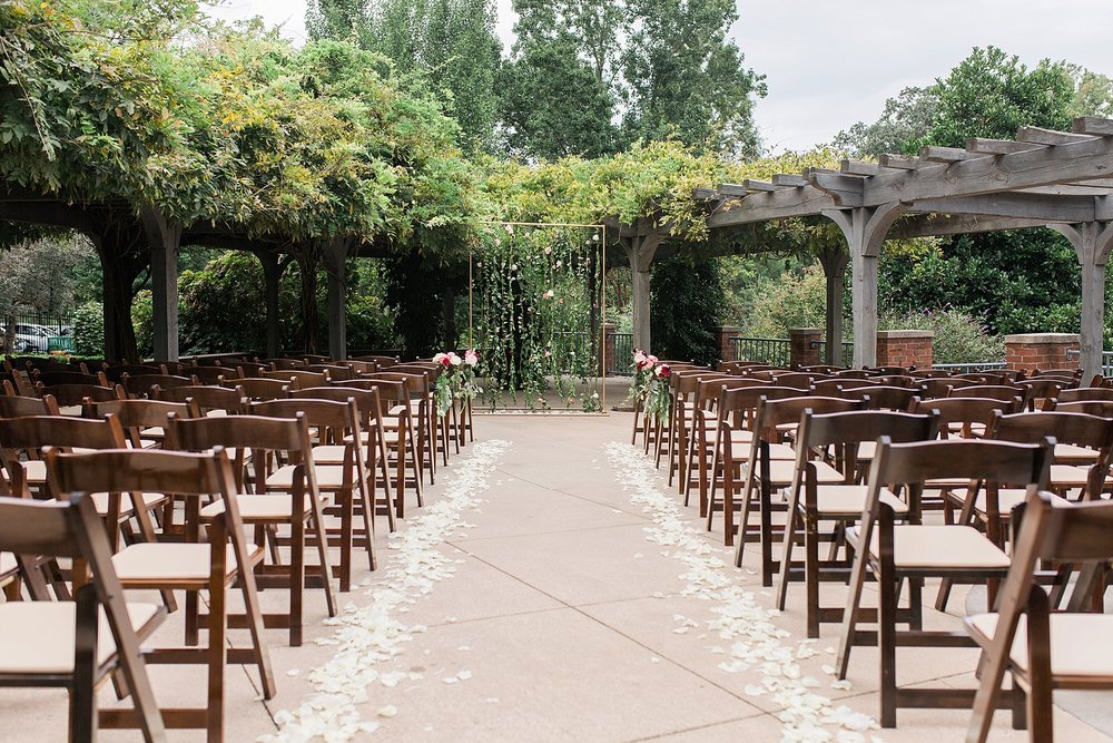 Outdoor Ceremony at Arboretum at Tanglewood