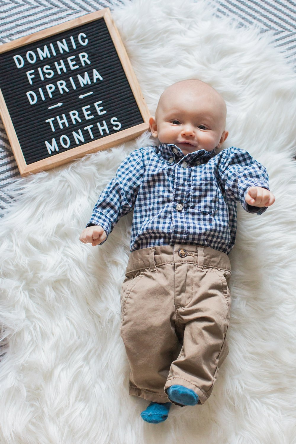 Dom's 3 month picture