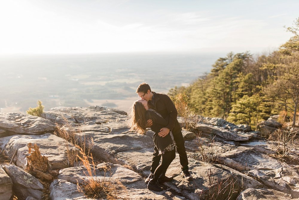 Pilot Mountain State Park Engagement Session