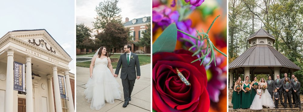 UNCG Alumni House Wedding