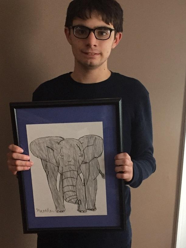 Matty, the artist
