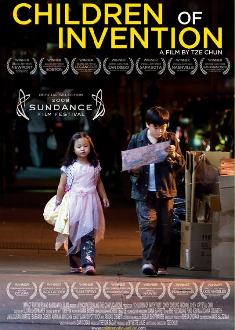 Children of Invention, 2009; photo by Will Serber, poster design by Tze Chun