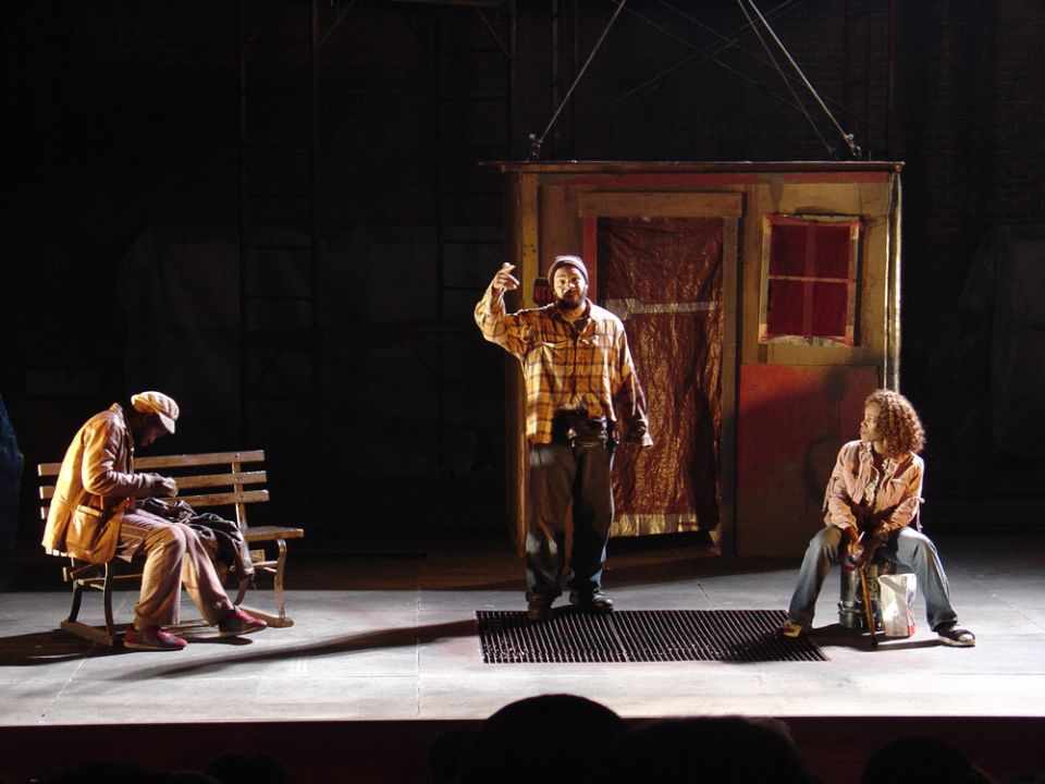 Light Raise the Roof , New York Theatre Workshop, 2004.