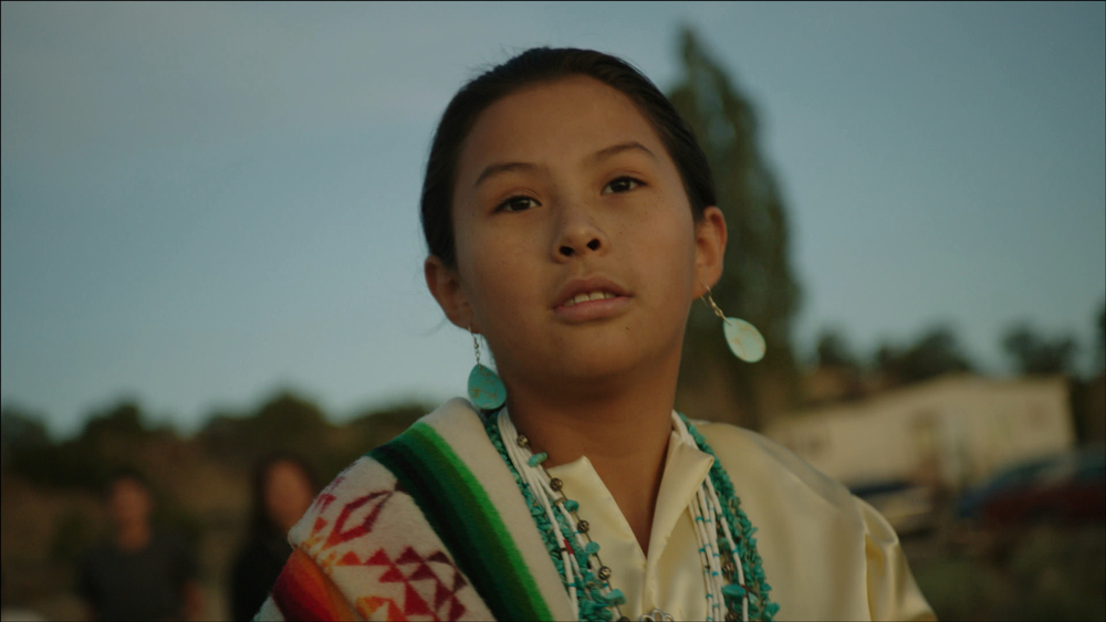 Magdalena Begay as Max Maryboy in Drunktown's Finest.