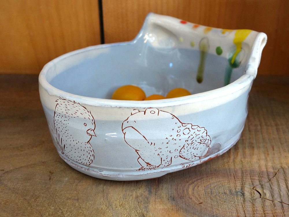 Bird and Toad Dish