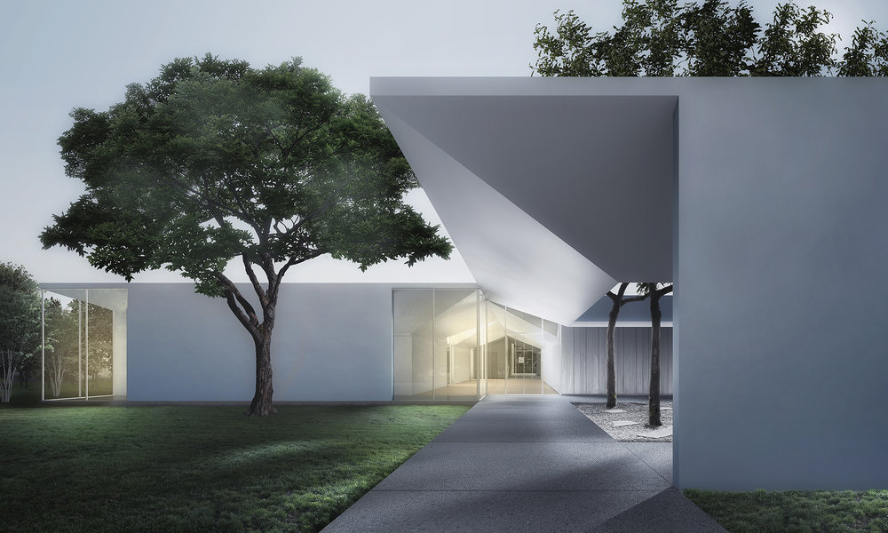 Menil Drawing Institute, Houston, Texas, 2014. Courtesy of Johnston Marklee