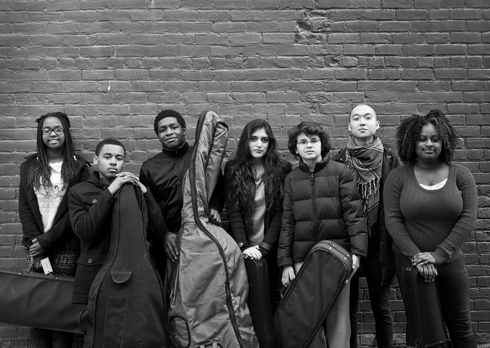 MYCincinnati Ambassador Ensemble, Cincinnati, 2015. Photo by Michael Wilson.
