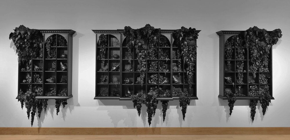 Welcome 2016 USA Fellows    Lauren Fensterstock, USA Barr Fellow, Crafts   The Order of Things, mixed media, 2016. Photo: Claire Oliver Gallery