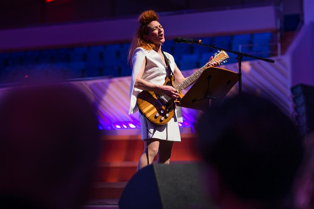 2015 USA Knight Fellow in Music Shara Nova performs at the New World Center