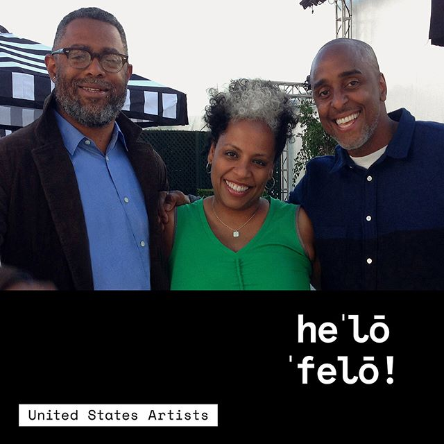 "Say 👋 hello to 2018 Fellow in Media, TNEG! Comprised of Elissa Blount Moorhead, Arthur Jafa, and Malik Sayeed, TNEG is a motion picture studio whose goal is to create a Black cinema as culturally, socially, and economically central to the 21st century as Black music was to the 20th century. They create films, time-based media, and installations. . . TNEG is founded on a realization that the construction of a suitable means of production depends not only on the mastery of the production apparatus as it is presently configured, but the aggressive reformulation of that apparatus to suit the specific means and objectives of Black people. They assert that a cinema calibrated to the cultural, socioeconomic, and existential particulars of Black being is not only possible, but also inescapably the way toward a viable Black cinema. . . Among TNEG's projects are the short film ""Deshotten"", the documentary ""Dreams are Colder Than Death"", and Jay Z's music video from the title track of the album ""4:44"" which features 2018 Fellow in Dance Okwui Okpokwasili. . . #2018Fellow #USAFellows #UnitedStatesArtists"