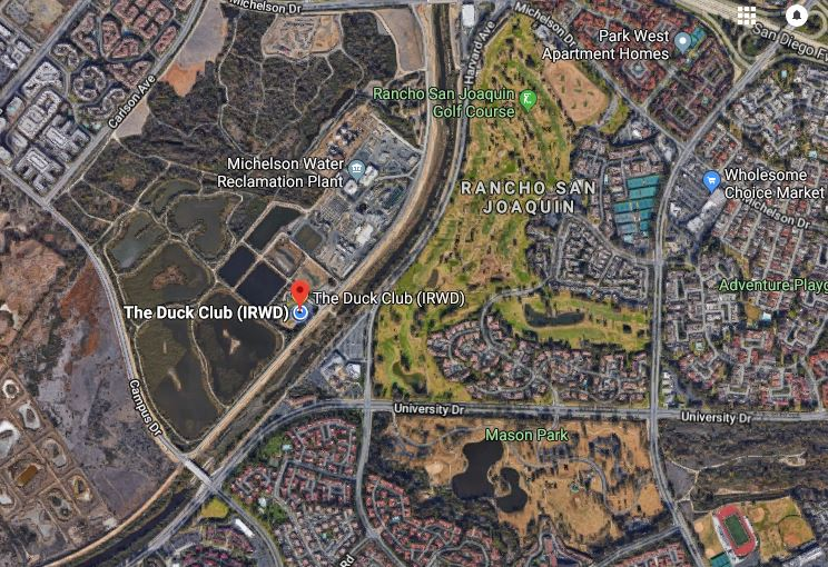IRVINE RANCH WATER DISTRICT DUCK CLUB -15 RIPARIAN WAY, IRVINE