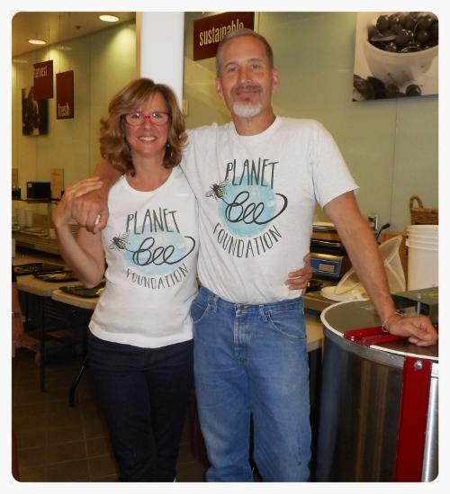 Planet Bee Founders Debra and Bill Tomaszewski