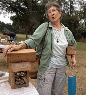 There are over 20,000 species of bees in the world, most of which are solitary bees which don't make honey but are excellent pollinators. Learn more about California's native bees as you make native bee nest sites to put up in your own backyard and outdoor places. These native bee nest sites are great projects for outdoor ecologists and important tools for native bee conservation. Bring some materials to repurpose and leave with a native bee nest site and the know-how to monitor and maintain it as a safe home for the native bees in your backyard. Family friendly event, all welcome.  Saturday Mar. 16, 2019 (2-4pm). $50