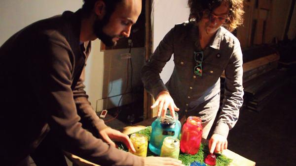 Carly Nix and friend play Teddy Bear Brain Jello things – Carly Nix & Zach Katz