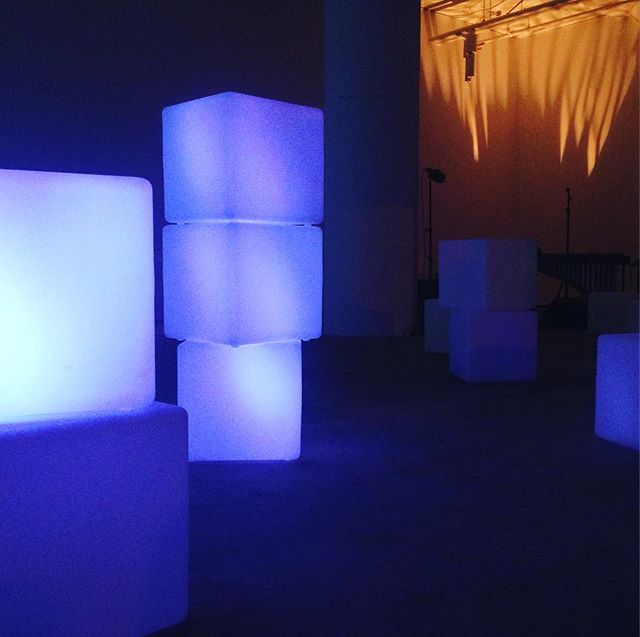 Sound sculpture debut by @masary_studios tonight @bostondesigncenter