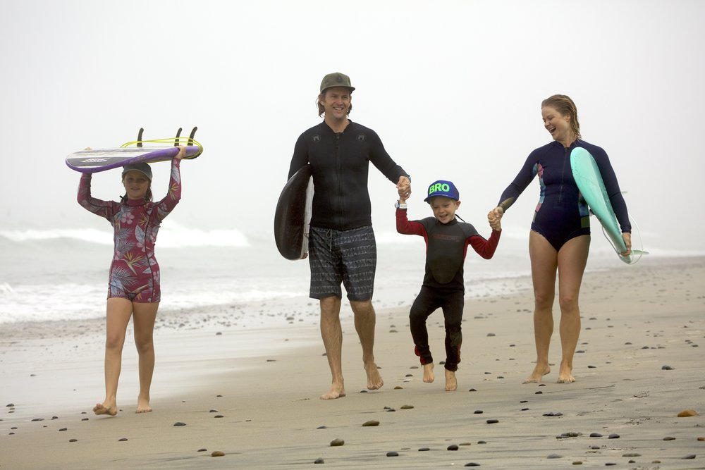 Snyder fam loves us some beach time! What is your family's go to happy spot?