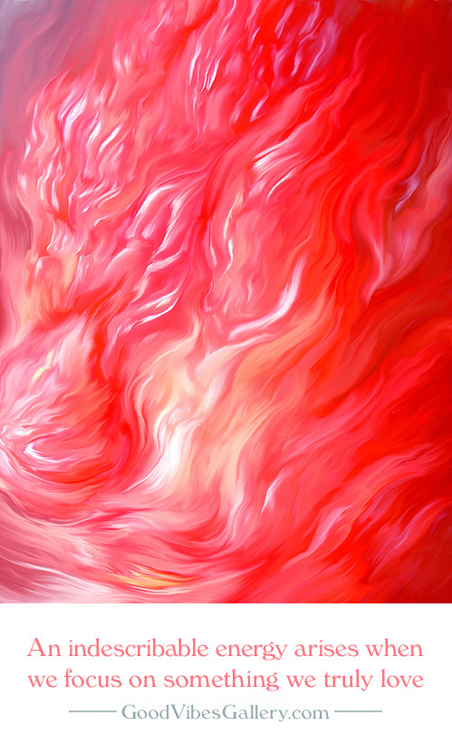 abstract-paintings-expressionism-fine-art-contemporary-painter-zen-tao-art-pink-red-fire-molten-ardor-good-vibes-gallery