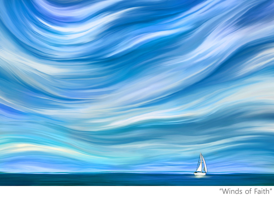 sailboat-sailing-landscape-paintings-impressionism-fine-art-contemporary-painter-surreal-zen-tao-art sunrise-sunset-sun-moon-mountains-ocean-quotes-the-winds-of-faith-good-vibes-gallery-goodvibesgallery