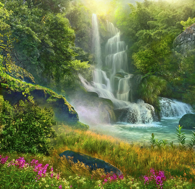 peaceful-landscape-paintings-posters-artwork-spiritual-art-meditation-yoga-beautiful-large-format-zen-painter-of-light-thomas-kinkade-good-vibes-gallery-goodvibesgallery