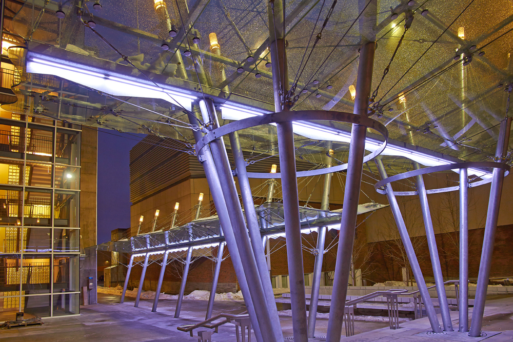 The Northern Jubilee Auditorium Canopy