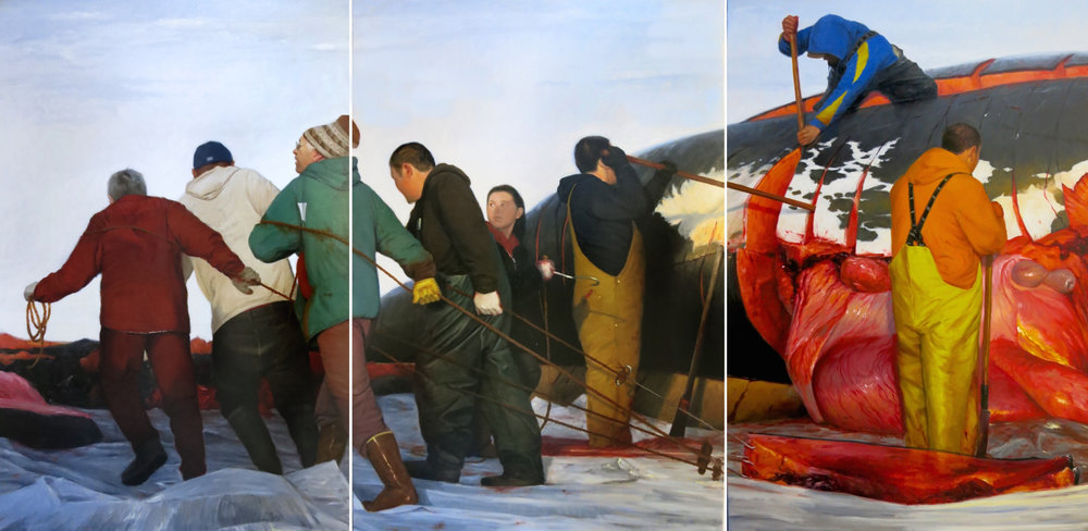 The Whale as a Dish Spring Hunt   |   David Pettibone