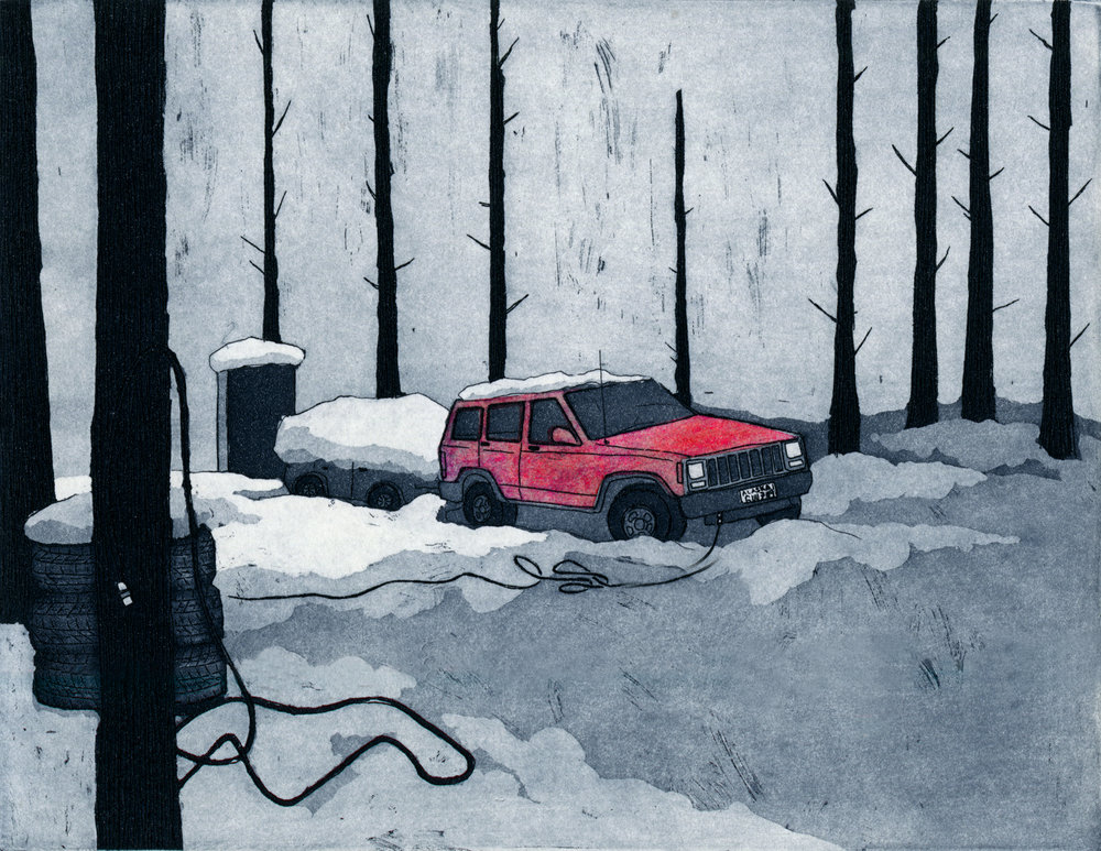 Image from Interior: Broke Down Jeep | Karinna Gomez