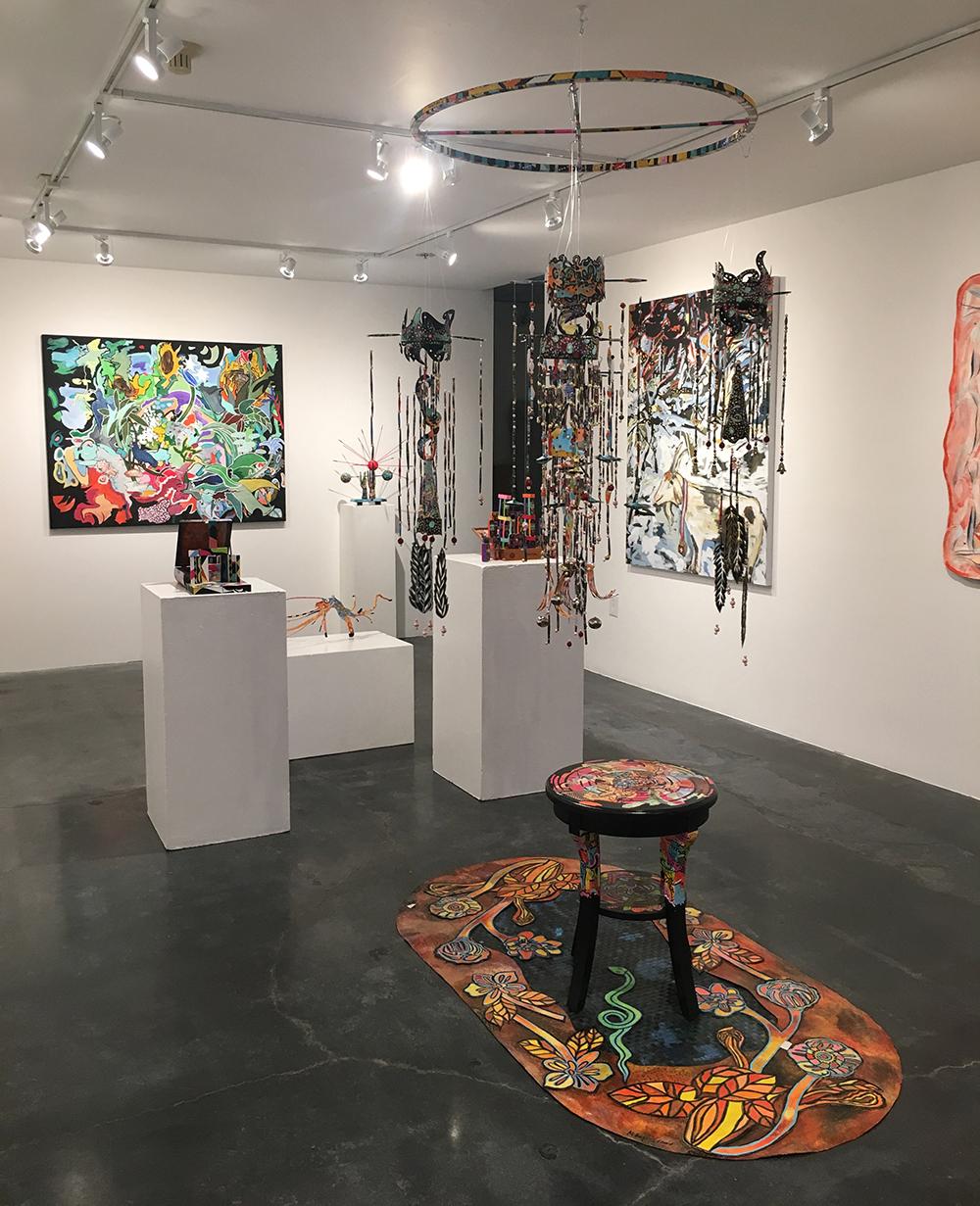 Margret Hugi-Lewis,  New Works to Stimulate the Senses , installation view, 2019
