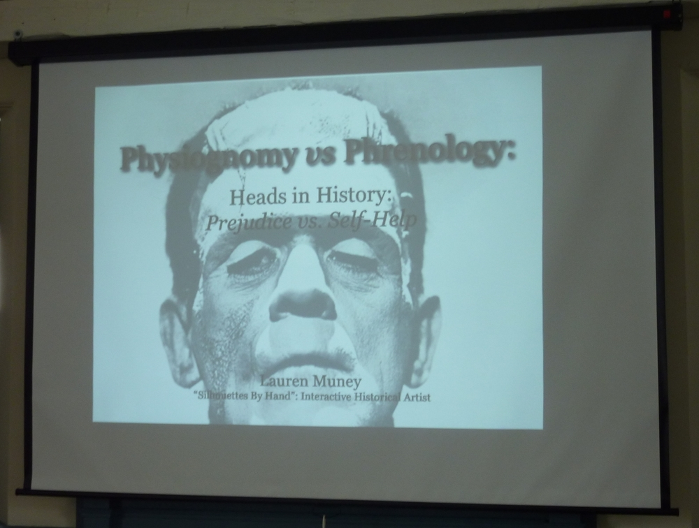 "Presentation of ""Heads in History"""