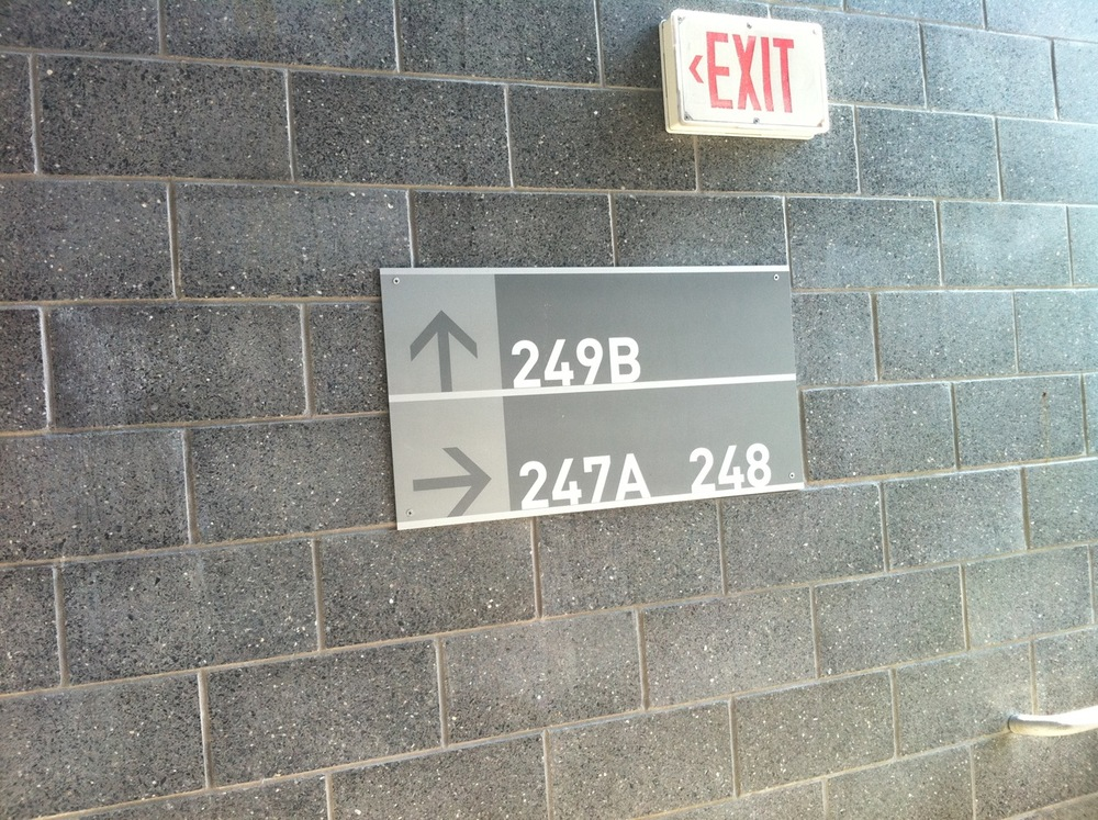 200 concourse section sign.JPG