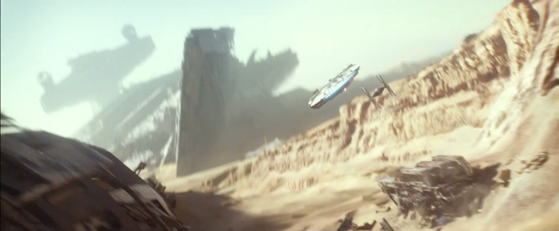 Star Wars: Episode 7 Theatrical Trailer // Oct 2015 Via Lucasfilm