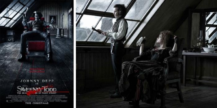 Sweeney Todd: The Demon Barber of Fleet Street // 2007 Via Warner Bros.