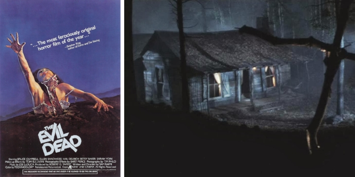 The Evil Dead // 1981 Via New Line Cinema